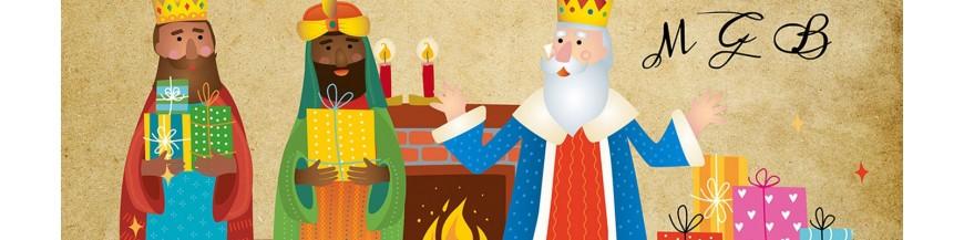 Carta de los Reyes Magos personalizada para niños