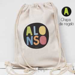 Mochila stamp color