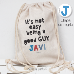 "Mochila ""GOOD GUY"""