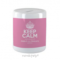 Hucha Keep calm mami