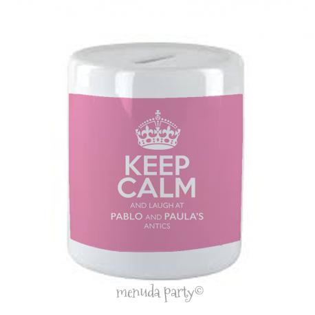 Hucha Keep calm mami