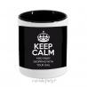 Porta lápices/accesorios Keep calm man