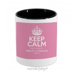 Porta lápices/accesorios Keep calm mami