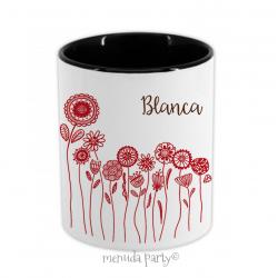 """Porta lápices/accesorios """"Doña Blanca"""""""