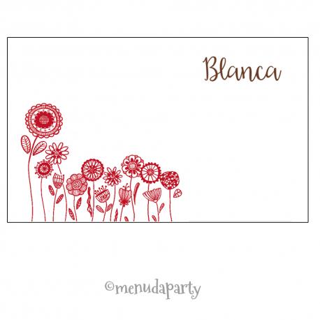 """Tarjeta de visita """"Doña Blanca"""""""