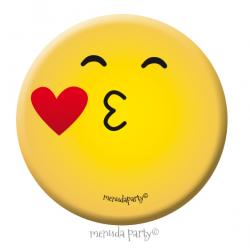 Chapa emoji beso