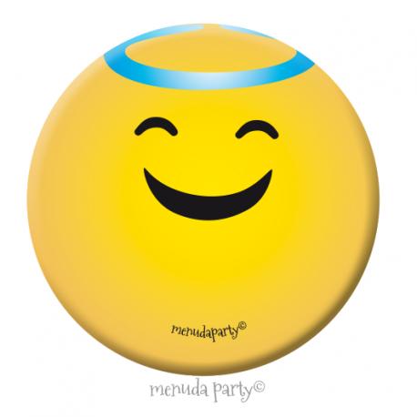 Chapa emoji santo