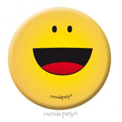 Chapa emoji feliz