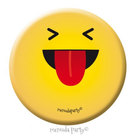 Chapa emoji mueca