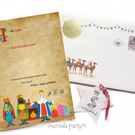 Carta de los Reyes Magos -3-