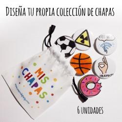 """Colección """"MIS CHAPAS"""""""