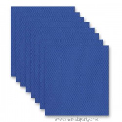 Mascarilla niño talla 6-8 cuadros azules