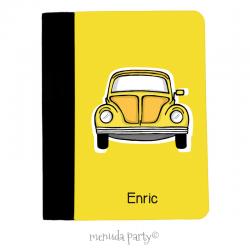 "Carpeta A5 ""Coche Yellow"""