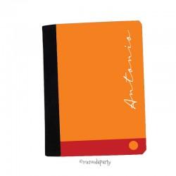 "Carpeta A5 ""Color"" naranja"