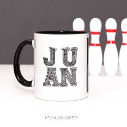 Taza black and withe
