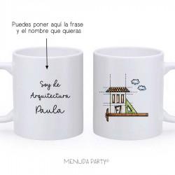"Taza work ""soy de arquitectura"""