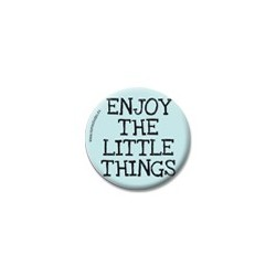 Enjoy the little things -Live-