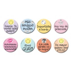 "Pack de 8 chapas ""Friends"""